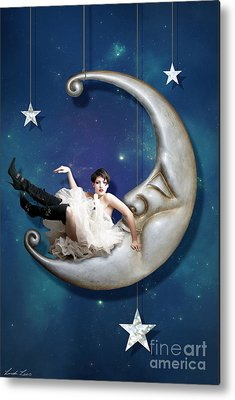 Moon Metal Prints