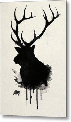 Elk Metal Prints