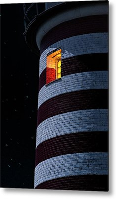 West Quoddy Head Lighthouse Metal Prints