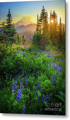 Blue Mountain Metal Prints
