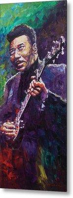 Music Blues Muddy Waters Metal Prints