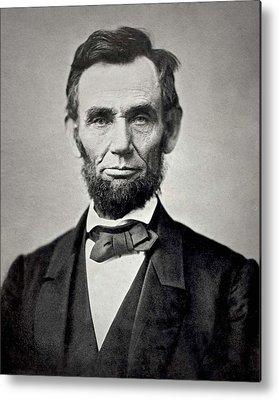 Abraham Lincoln Metal Prints