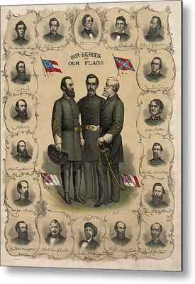 Civil War Metal Prints