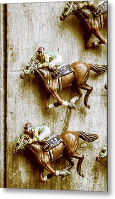 Thoroughbred Racing Metal Prints