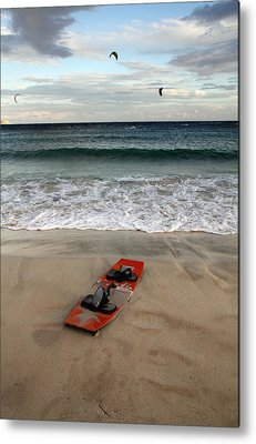 Kiteboarding Metal Prints