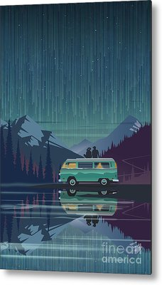 Camper Metal Prints