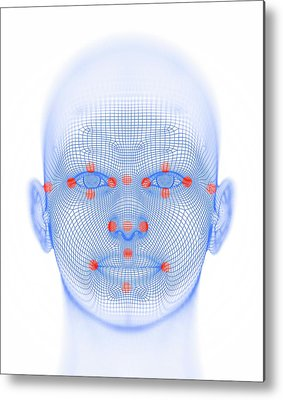 Biometrics Metal Prints