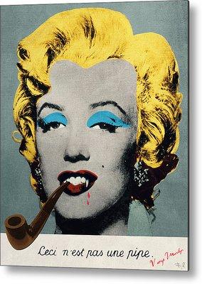 Surreal Marilyn Monroe Metal Prints