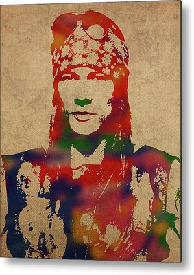 Axl Rose Metal Prints