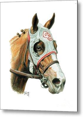 Thoroughbred Horse Metal Prints