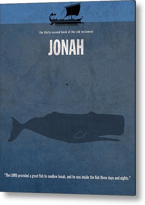 Jonah And The Whale Metal Prints