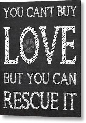 Dog Rescue Digital Art Metal Prints
