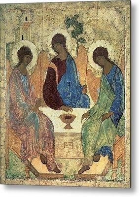 Holy Trinity Icon Metal Prints
