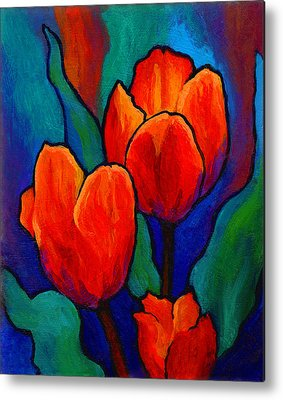 Tulips Metal Prints