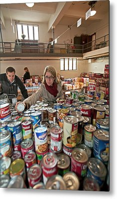 Canned Goods Metal Prints