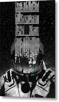 Interstellar Space Metal Prints
