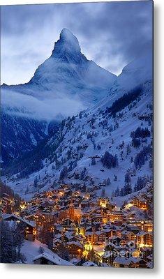 Swiss Landscape Metal Prints