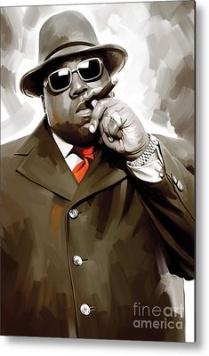 Biggie Metal Prints