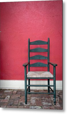 Ladder Back Chairs Photographs Metal Prints