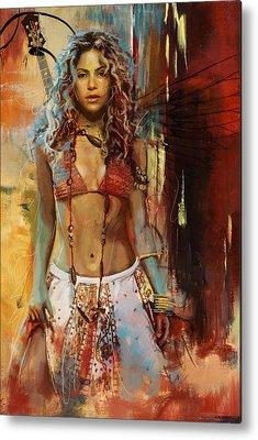 Shakira Metal Prints