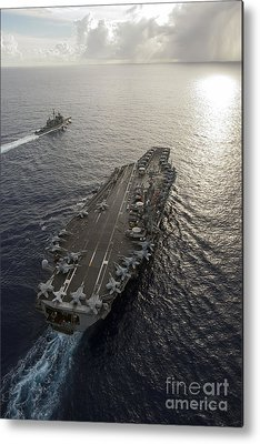 Uss George Washington Metal Prints