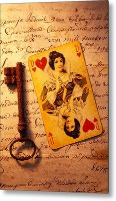 Playing Cards Metal Prints