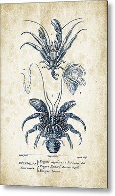 Crayfish Metal Prints