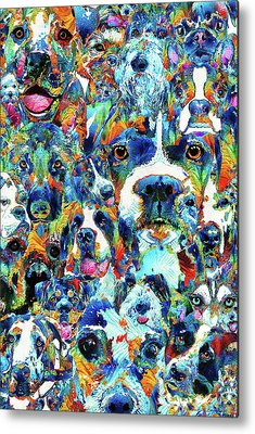 French Bull Dog Metal Prints