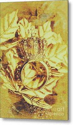 Diamond Ring Metal Prints