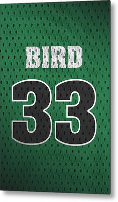 Larry Bird Metal Prints