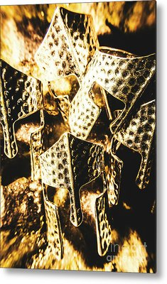 Roman Warrior Helmets Metal Prints
