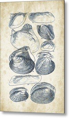 Mollusca Metal Prints