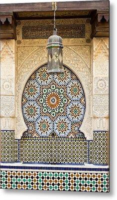 Moroccan Photographs Metal Prints
