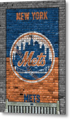 New York Mets Metal Prints