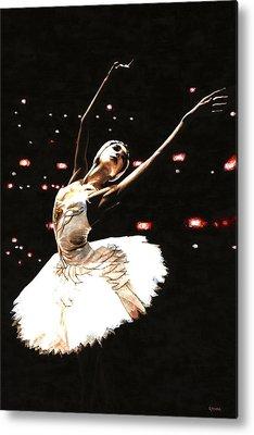 Prima Ballerina Metal Prints