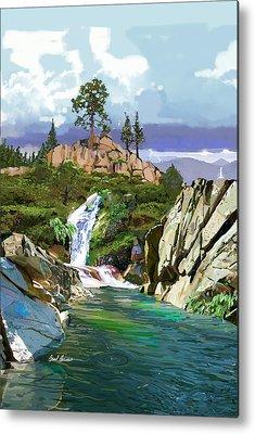 Sonora Paintings Metal Prints