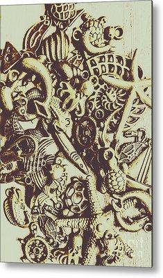Rustic Beach Decor Metal Prints
