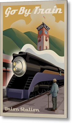 Union Station Metal Prints
