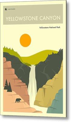 Yellowstone National Park Metal Prints