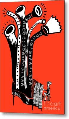 Flute Metal Prints