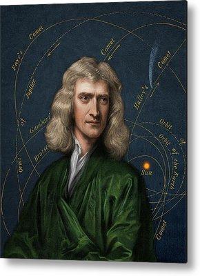 Isaac Newton Metal Prints