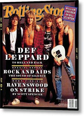 Def Leppard Photographs Metal Prints