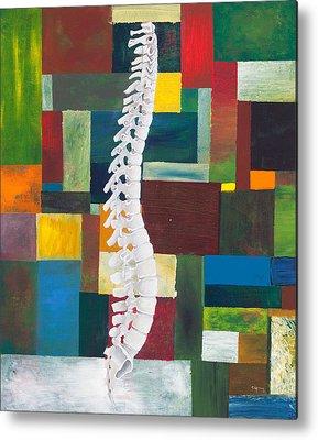 Spines Metal Prints