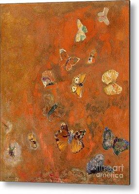 Butterfly Metal Prints