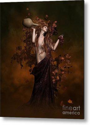 Vine Goddess Metal Prints