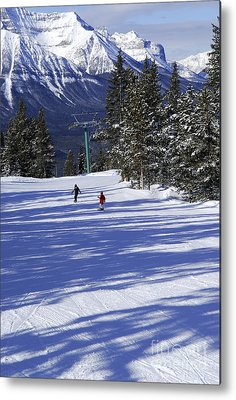 Chairlift Metal Prints