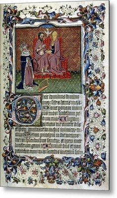 Old Testament Trinity Paintings Metal Prints