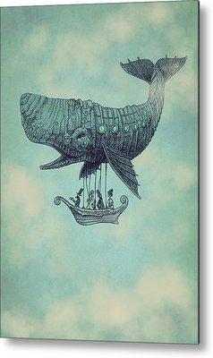 Whale Metal Prints