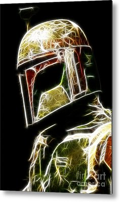 Boba Metal Prints