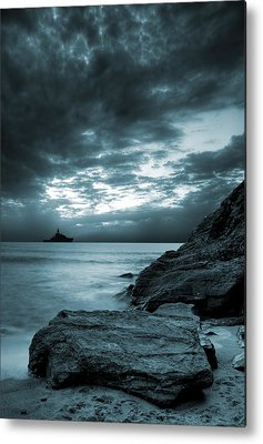 Stormy Digital Art Metal Prints